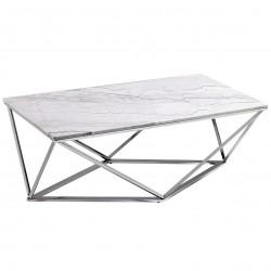 Table basse ONYX - Marbe blanc