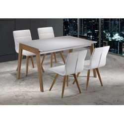 Table LAURA Blanche