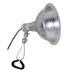 Lampe RETRO Acier Brossé