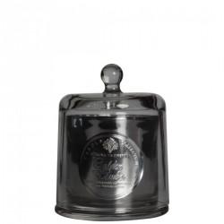 BOUGIE ARTISANALE Cloche verre soufflé - Golden Amber 240g