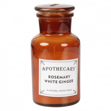 BOUGIE APOTHICARY - Rosemary White Ginger  200g