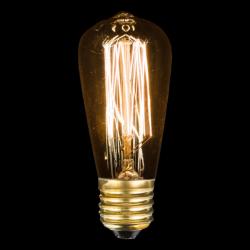 Ampoule décorative Edison CÔNE - M