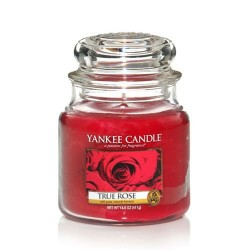 YANKEE CANDLE - Moyenne jarre True Rose 411gr