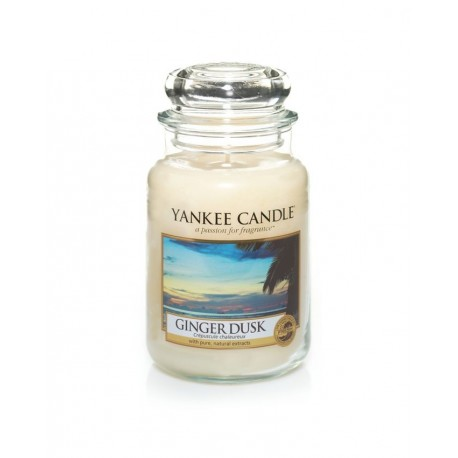 YANKEE CANDLE - Grande jarre Ginger Dusk 623gr