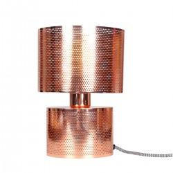 Lampe à poser ajourée TINA - Cuivrée