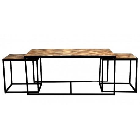 Trio de tables KETA