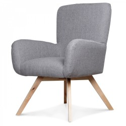 Fauteuil YOURI Gris
