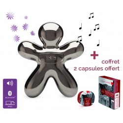 Diffuseur GEORGE Bluetooth - FULL CHARCOAL édition spéciale - Mr&Mrs Fragrances