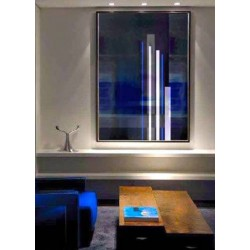 """Toile """"BLUE LINES"""" xxL by KUNST"""