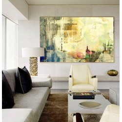 """Toile """"BRUME"""" L by KUNST"""