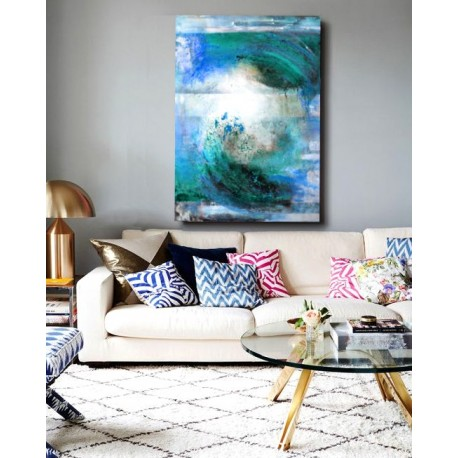 """Toile """"CRAZY WAVE """" by KUNST"""