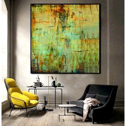 """Toile """"GREEN FOREST II"""" L by KUNST"""