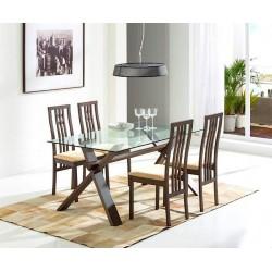 Ensmeble table LOLA + 4 chaises