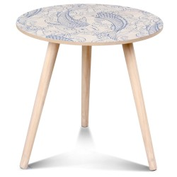 Table d'appoint OUCHAM Bleue