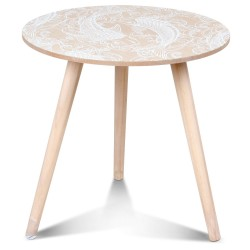 Table d'appoint OUCHAM Blanc