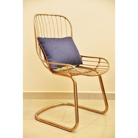 Paire de fauteuils 60'S TUB' OR