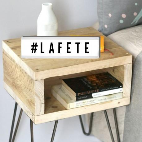 bo te d 39 affichage lumineuse 32x9cm 100 lettres. Black Bedroom Furniture Sets. Home Design Ideas
