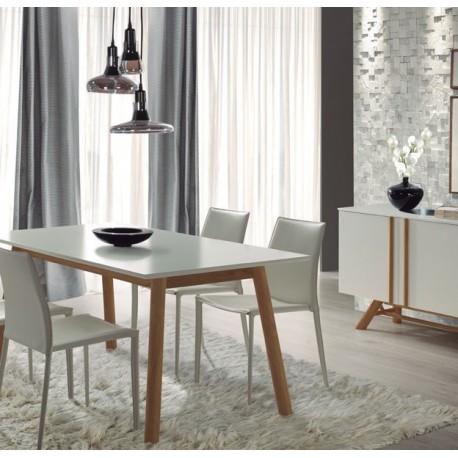 Table à manger ZEY Blanc