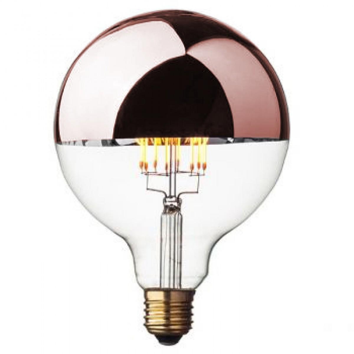 ampoule d corative edison led globe geant cuivre. Black Bedroom Furniture Sets. Home Design Ideas
