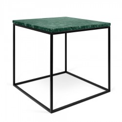 Table ou Chevet en Marbre vert Guatemala SQUIZZ