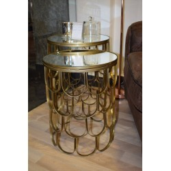 Duo de tables JELLY GOLD