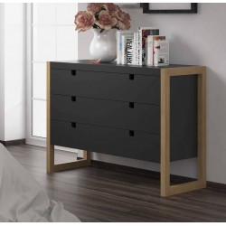 Commode KUBIKON Anthracite