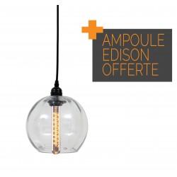 Suspension BUBBLE avec ampoule SPIRA