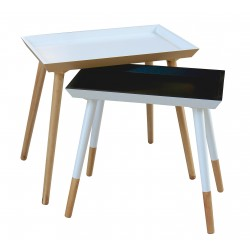 Duo de tables Plateau PUERTO