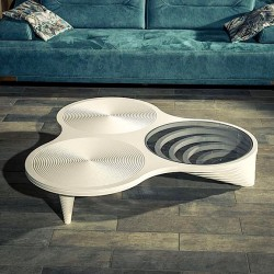 Table Basse MILAN - Blanc