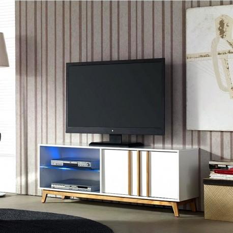 Meuble TV JOLIE - Blanc