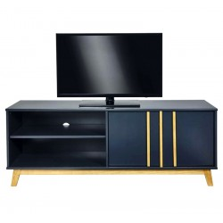 Meuble TV JOLIE - Anthracite