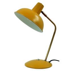 Lampe CARLTON - Jaune Miel mat & Or