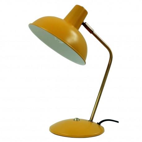 Lampe CARLTON - Miel mat & Or