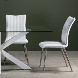 Chaise VINTY WHITE