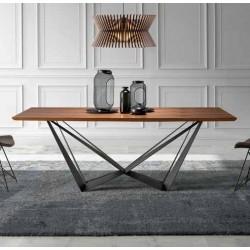Table à manger PRETORIA - Noyer