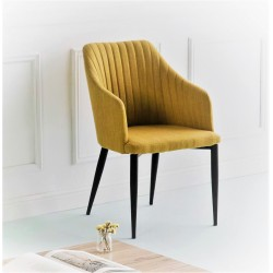 Fauteuil NYDA - Mustard