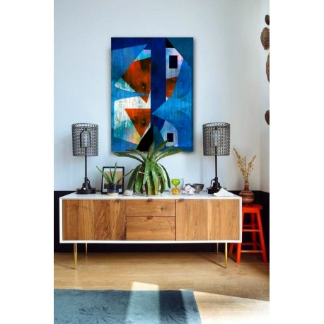 """Toile """"RUSTY HARMONY"""" by KUNST"""
