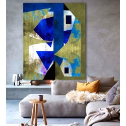 """Toile """"EARTH HARMONY"""" by KUNST"""