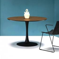 Table WOLF BLACK & WALNUT