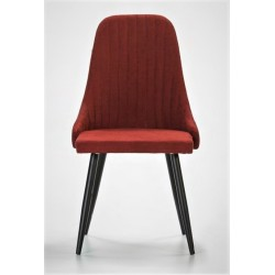 Chaise NEODE Red Velvet - Black Edition