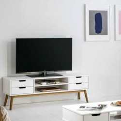 Meuble TV ZICO Blanc