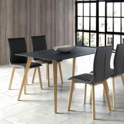 Table à manger ORORA - Black top