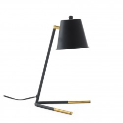 Lampe à poser BESTY - Black & Gold