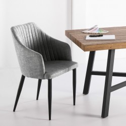 Fauteuil NYDA - Light Grey