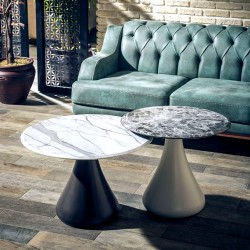 Duo de tables ROTERDAM - Marbres contrastants