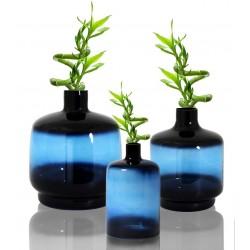 Trio de Vases OBY en verre soufflé Klein - LARGE