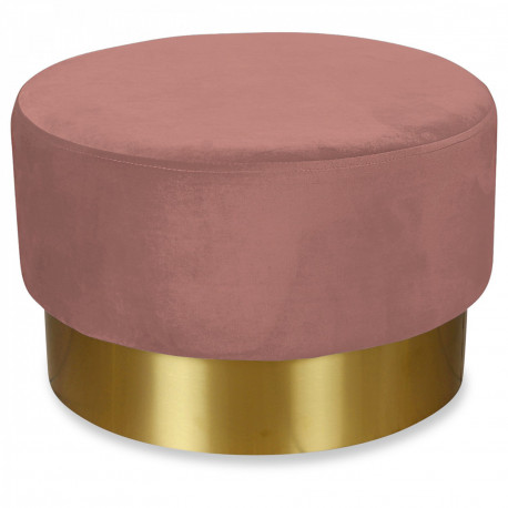 Tabouret YOAN xL Velours - Blush