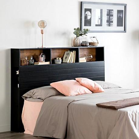 Tête de lit - JEHO - Noire