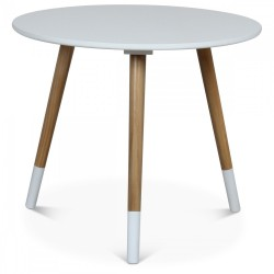 Table d'appoint AZA Blanche