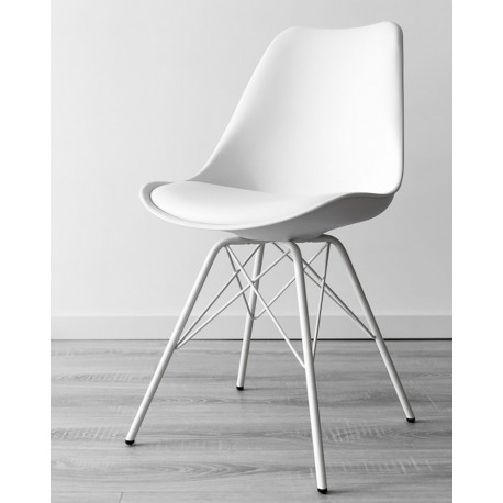 Chaise Northy - Blanche